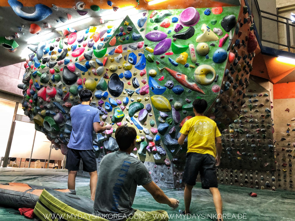 Rock climbing, The north face seoul, klettern, bouldern